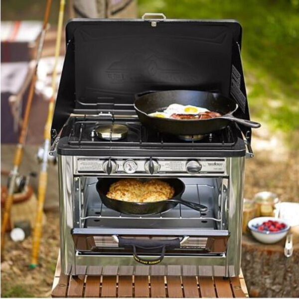 Camp Chef Stove Oven Propane Table Stoves Outdoor Pizza Camping Portable Range