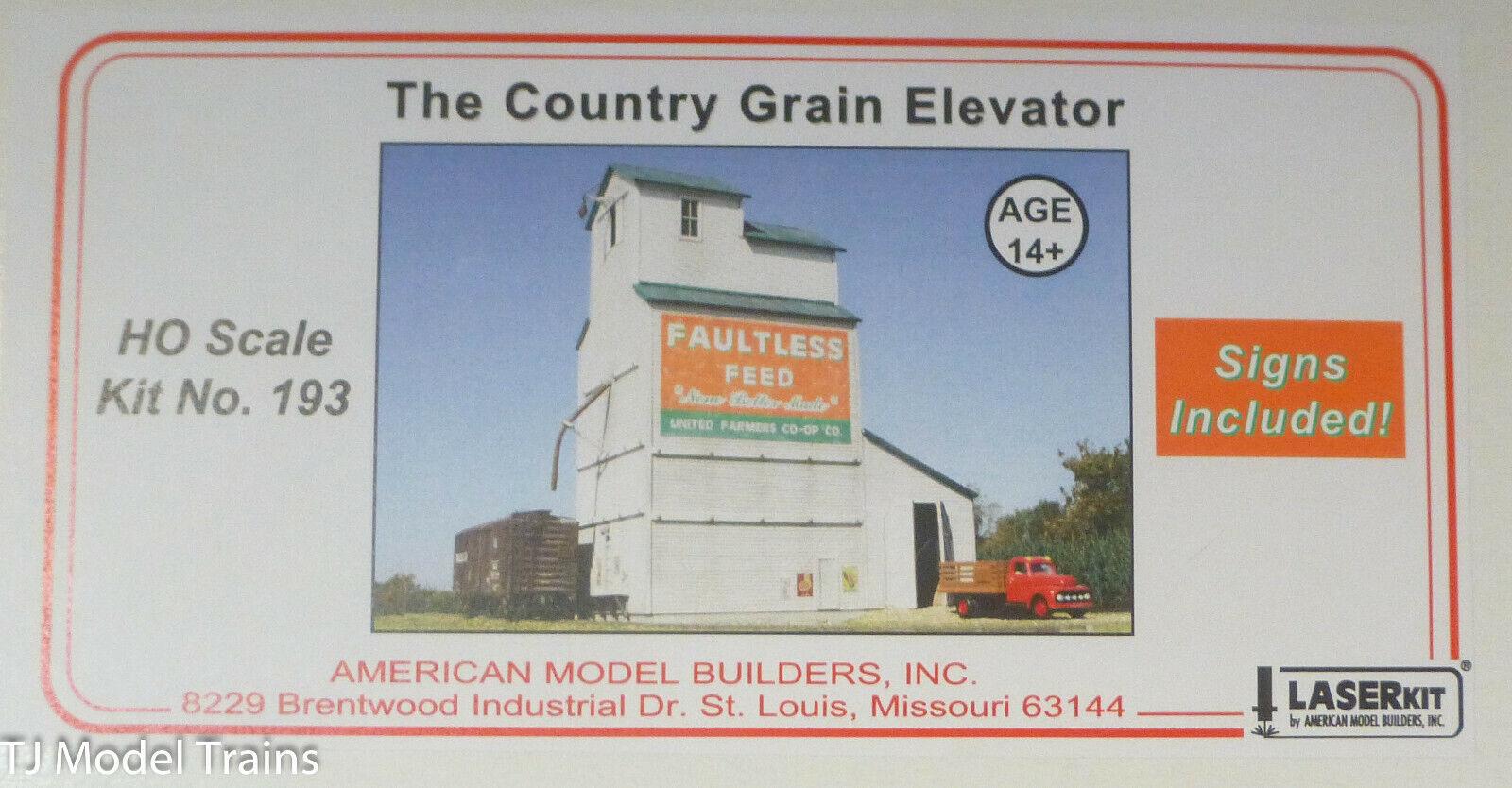 American modelllllerler Builders HO The Country Grain Elevator