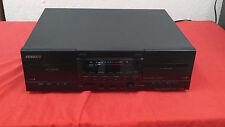 Kenwood KX W 4080 Doppel Kassettendeck mit HX Pro in schwarz vom Händler