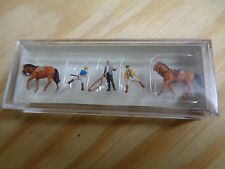 N 1:160 Preiser 79185 Sobre el Paseos a caballo. figuras. EMB.ORIG