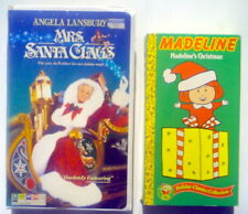 1989-97'S VHS VIDEOTAPES, MADELINE'S CHRISTMAS + MRS SANTA CLAUS