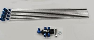 45-55 PSI 50-100-150-200-250-300HP Nitrous Outlet Jet Pack Kit for Spray Bars