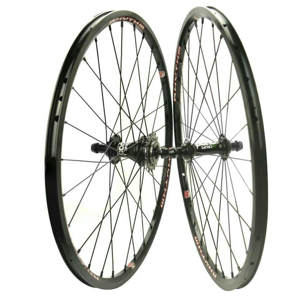 Crupi Bmx Wheelset 20X1 3 8