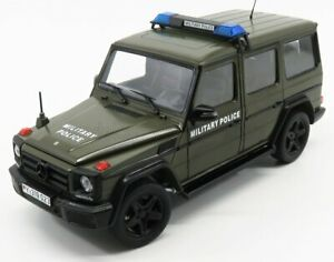 I-SCALE MERCEDES BENZ | G-CLASS (W463) MILITARY POLICE 2015 | MILITARY GREEN
