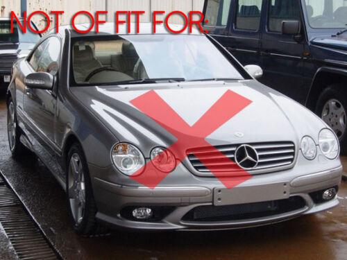 DEPO 2000-2006 Mercedes Benz W215 CL Class Replacement Fog Lights Set Left+Right