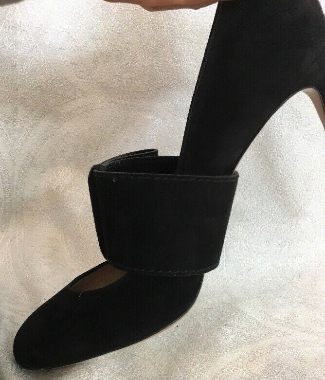 Valentino shoes Black suede suede suede with Side Half  Bow size 40 320b6d