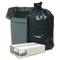 Nature Saver Trash Can Liners,rcycld,31-33 Gal,1.25mil,33x49,100/bx,bk 00989 on sale