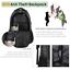 "miniature 7 - Matein Men's Camo 15.6"" Laptop Backpack Anti-Theft USB RFID Travel School Bag"