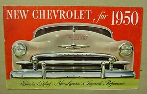 1950 Originalchevrolet Sales Brochure Colonial Chevrolet