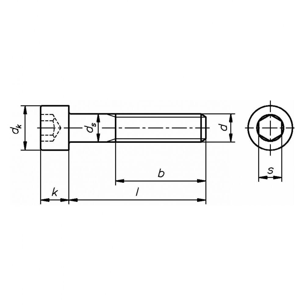 25x 25x 25x ISO 4762 Zylinderschraube mit Innensechskant. M 12 x 35. A 4 blank BUMAX88       Neu  4df2cb