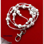 Pearl-Silver-Ladies-Women-039-s-Pretty-ID-Badge-Keys-Holder-Necklace-Lanyard-New thumbnail 4