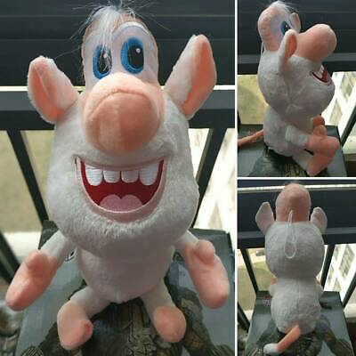 Anime Cartoon Small Withe Pig Brownie Buba Booba Plush Soft Stuffed Kids Toy