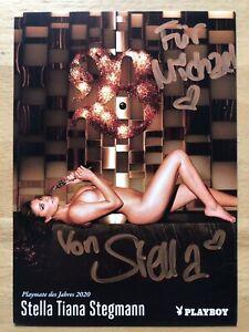 Stella-Tiana-Stegmann-Ak-Playboy-Playmate-2020-Autograph-Original-Signed-3