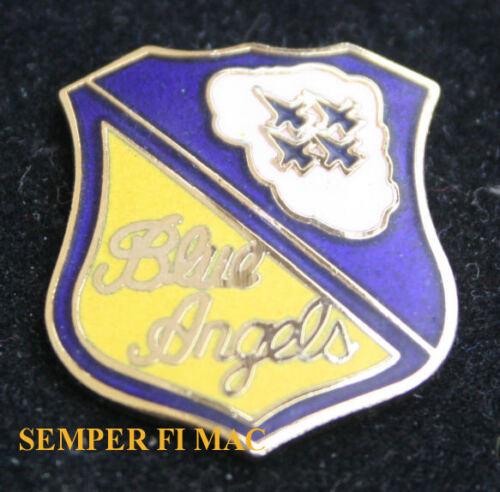 BLUE ANGELS LOGO SEAL HAT LAPEL VEST PIN UP US NAVY MARINES F-18 HORNET C130 USS