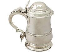 Sterling Silver Quart Tankard - Antique George II