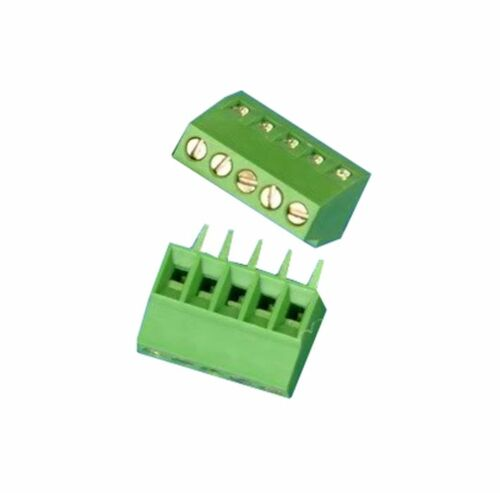 10pcs New 5 Poles KF128 2.54mm PCB Universal Screw Terminal Block Good Quality