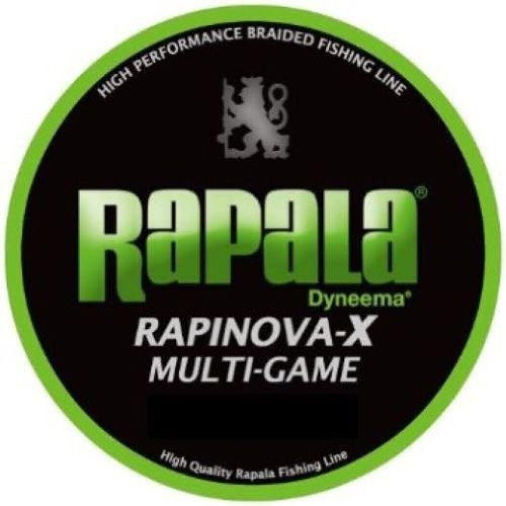 Rapala RAPINOVAX MULTIgioco 0.3 7.2lb 150m Lime verde RLX150M Japan FS S0894