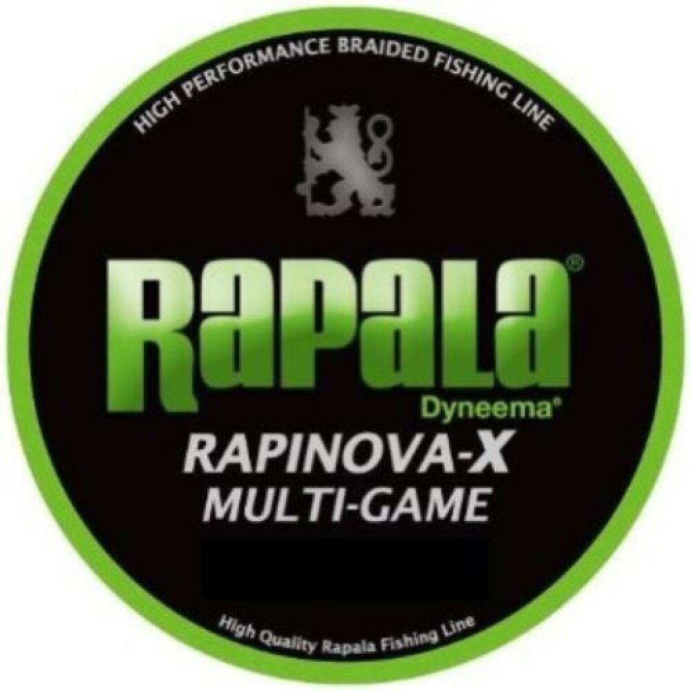 Rapala RAPINOVA-X MULTI-GAME 0.3 7.2lb 150m Lime green RLX150M Japan F S S0894