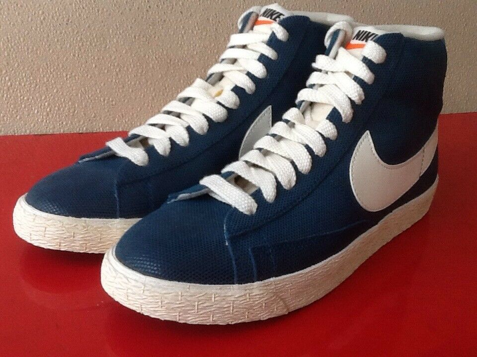 Wmns Nike Blazer Mid Suede Vntg 518171 407 blue Force Size 9
