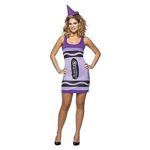42565cd060c Costumes for All Occasions Gc451106 Crayola Tank Wisteria Adult
