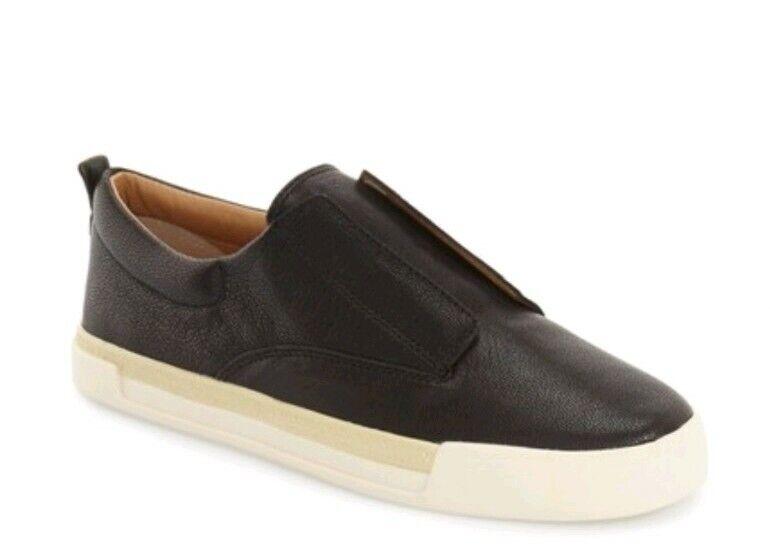 Women's lucky brand LK Mandalay black laceless slip on shoe size 8 new