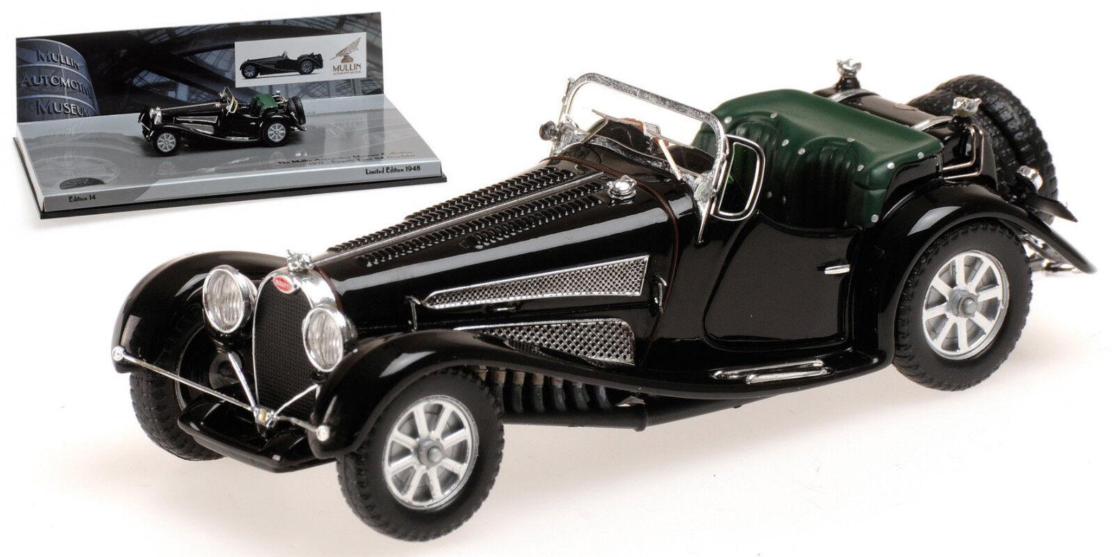 Bugatti type 54  roadster 1931 resin minichamps 1 43  offres de vente