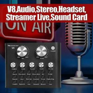 Audio-Stereo-USB-Headset-Microphone-Webcast-Streamer-Live-Sound-Card-fr-Phone-PC