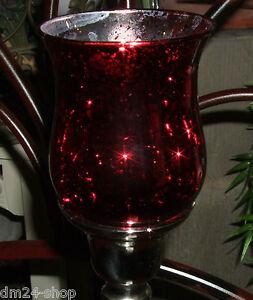 4-x-rotes-WINDLICHT-EINSTECKGLAS-TEELICHT-fuer-Kerzenleuchter