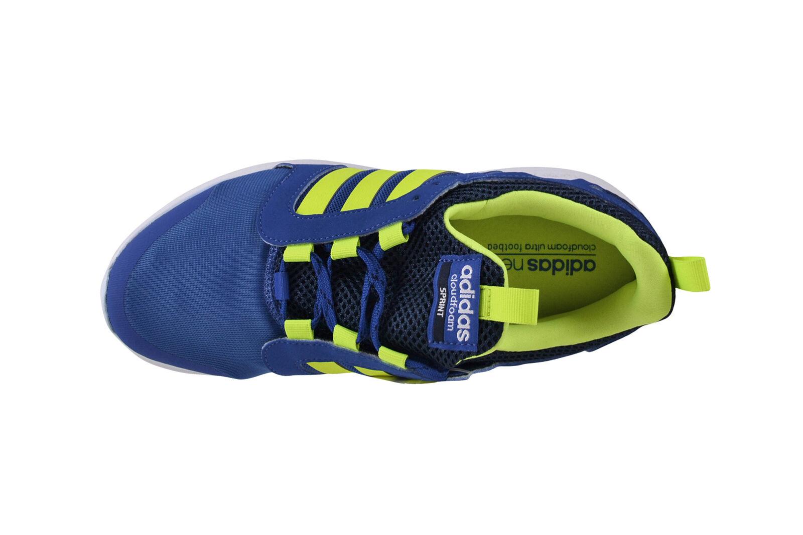 Adidas Neo Neo Neo Cloudfoam Sprint Blau sGelb conavy Turnschuhe Schuhe blau AQ1489 556617