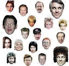 Patrick Mcgoohan Retro Celebrity The Prisoner Actor Card Mask Masks Pre-Cut