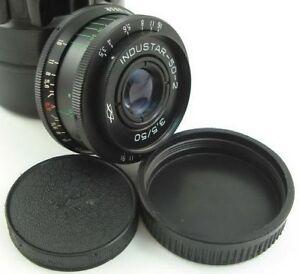 SERVICED-INDUSTAR-50-2-Made-in-USSR-Lens-Adapt-Fuji-X-Mount-FX-X-Pro-1-2-T3