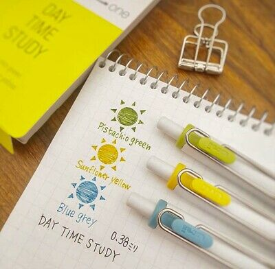 uni MITSUBISHI PENCIL uni-ball one Gel Ballpoint Pen 3 Colors Set 0.38㎜ Summer