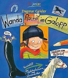 Wanda-Rache-im-Galopp-von-Geisler-Dagmar-Buch-Zustand-gut