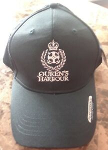 NEW-Queen-039-s-Harbour-Yacht-amp-Country-Club-Golf-Hat-Baseball-Cap-Navy-Adjustable