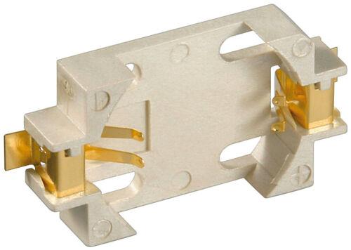 Knopfzellen-Clip; BH KZH 20 SMD CR2016//2025//2032