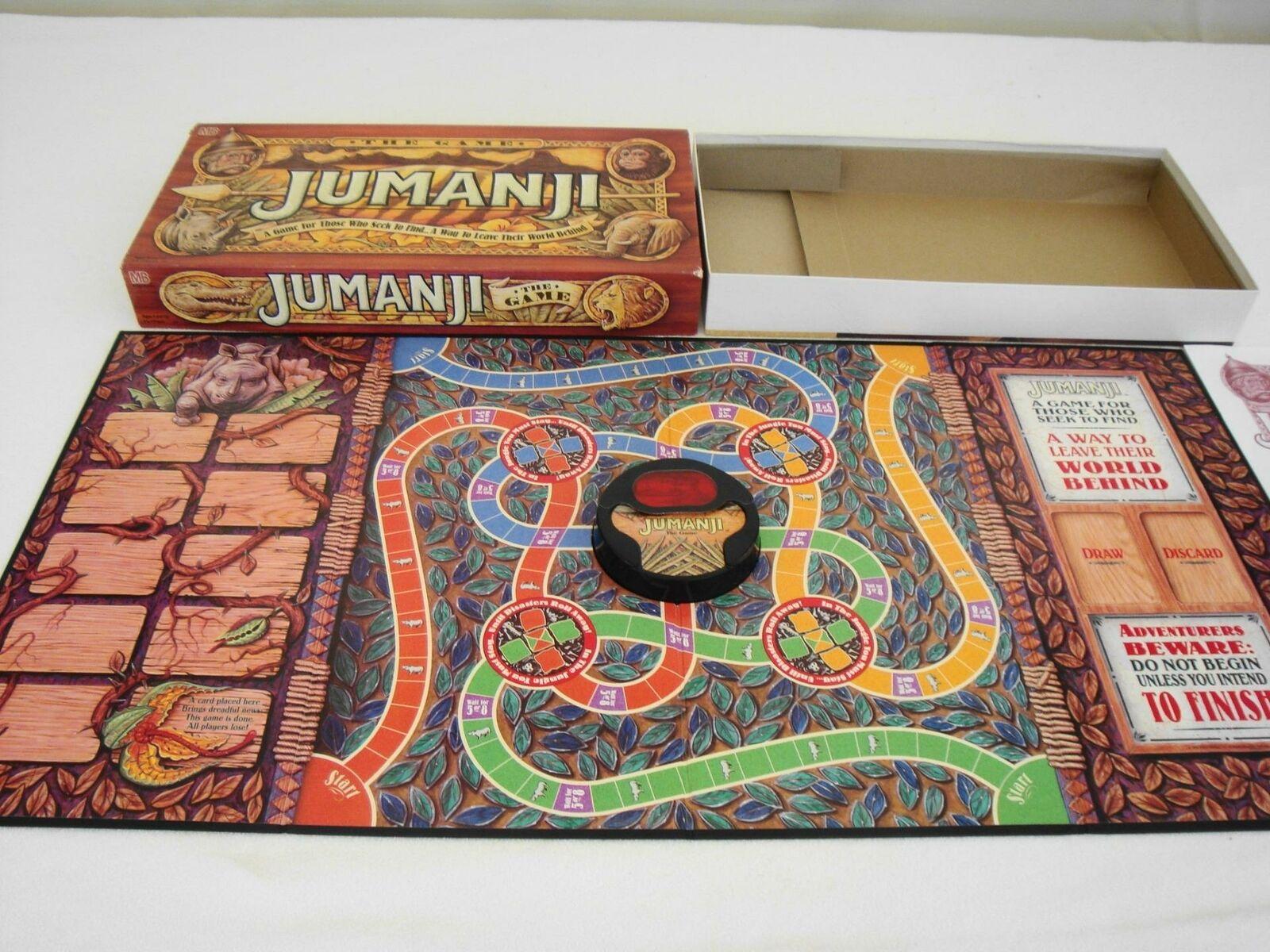 con il 60% di sconto VTG 100% 100% 100% completare ORIGINAL JUuomoJI1995MOVIE tavola gioco1st edizioneEXCELLENT  marchio in liquidazione