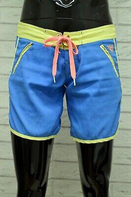 Costume O'neil Uomo Taglia Size 27 Mare Piscina Bagno Shorts Pantaloncino Blu Bello E Affascinante