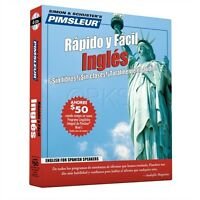 Pimsleur 4 Cd English Ingles For Spanish Speakers (esl)