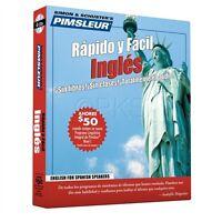 Pimsleur 4 Cd English Ingles For Spanish Speakers (esl)