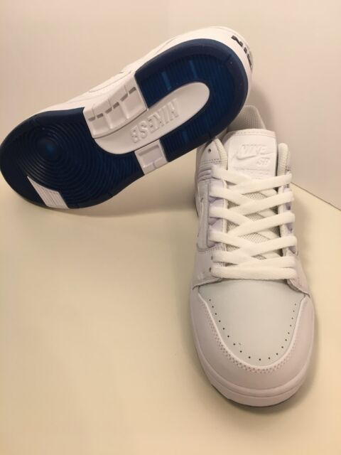 1fd044a2f7a02 Mens Nike SB Air Force II Low QS Ao0298-114 White Size 9 No Lid for ...