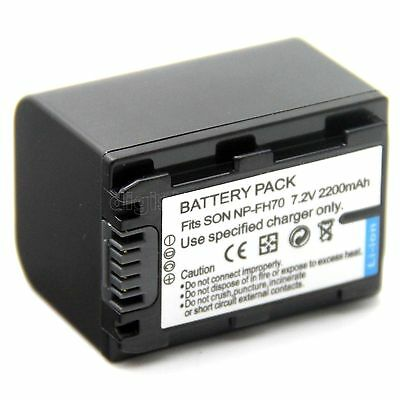 3x BATTERY 950mAh FOR Sony NP-FH40 NP-FH60 NP-FH50