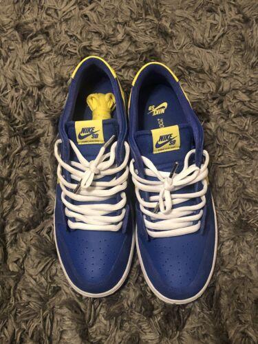 Nike Dunk SB Low Boca Juniors Blue Yellow Gum Size