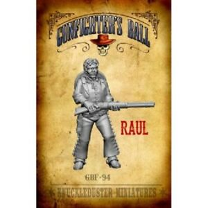 Details about GBF-94 RAUL - KNUCKLEDUSTER MINIATURES GUNFIGHTERS BALL