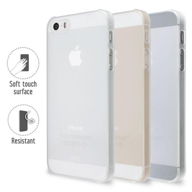 Artwizz Rubber Clip Schutzhülle Case Cover iPhone SE 5S 5 translucent B-Ware