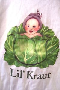 NEW-CUTE-size-Small-BABY-Todddler-LIL-039-Kraut-cute-T-Shirt-European-Heritage