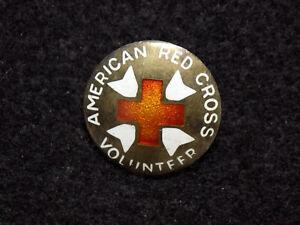 Segunda-Guerra-Mundial-Americano-Cruz-Roja-Nurses-Ayudante-Insignia-1923-1946