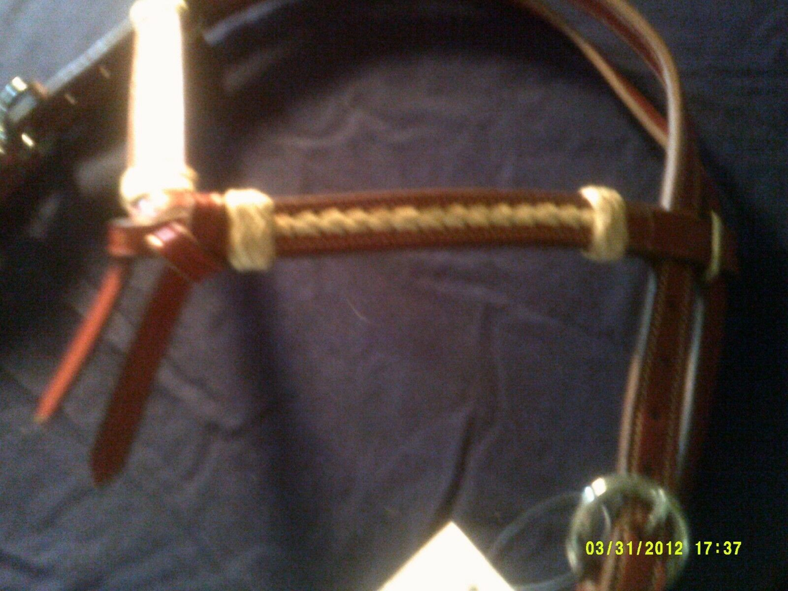 Show Style Pecan Pecan Pecan Coloreeee Furity Knot and Rawhide Accents by Action Company adcc2b