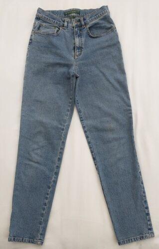 Vintage Ralph Lauren Denim Mom Jeans 2 Petite High