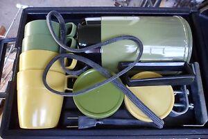 Vintage Kar-N-Home Avocado Green Travel Coffee Pot Percolator eBay