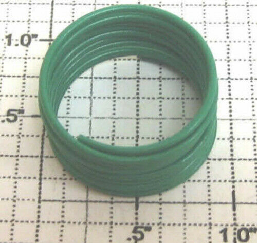 4 Lionel 81-32 Green Hook-Up Wire Coil